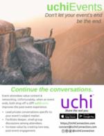 uchiEvents Flyer