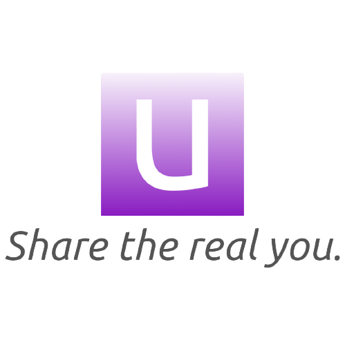 Uchi App Icon - Share the real you - transparent